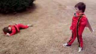 getlinkyoutube.com-Power Rangers Fight