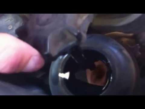 Проверка жидкости гидроусилителя на BMW x5 e53