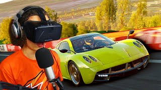 getlinkyoutube.com-INSANE VIRTUAL REALITY RACING GAME (Project Cars)