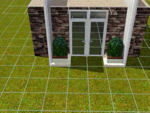 [Sims 3 Tutorial] Creating Half Walls on Roofs