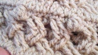 getlinkyoutube.com-como hacer gorro tejido con gancho (crochet)