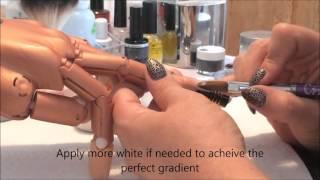 getlinkyoutube.com-Baby Boomer Acrylic Nail