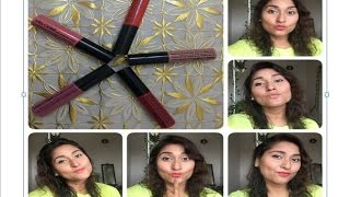 getlinkyoutube.com-*PRODUCT REVIEW* Miss Claire Soft Matte Lip Cream