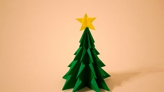 getlinkyoutube.com-【折紙(origami)】クリスマスツリー Christmas-tree