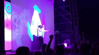 getlinkyoutube.com-Captain Murphy - The Killing Joke / Mighty Morphin Foreskin [Live at Laneway Festival Brisbane 2015]