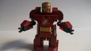 """How to make a Lego """"Hulkbuster"""" Armor Suit (Iron Man)"""