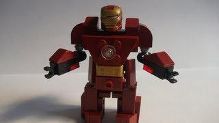 "getlinkyoutube.com-How to make a Lego ""Hulkbuster"" Armor Suit (Iron Man)"