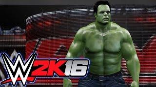 getlinkyoutube.com-WWE 2K16 Hell in a cell match! (Hulk Vs Wolverine) ARCADE MACHINE INFO!!!