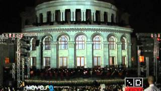 KOHAR 3D Mapping at Opera, Yerevan 28 May 2011, HI-RES