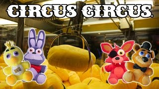 getlinkyoutube.com-Big Five Nights At Freddy's claw machine wins at Circus Circus! | The Crane Couple