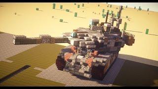 マイクラ戦車大会 Minecraft of Tanks!! 前編 【地上最強を求めて】