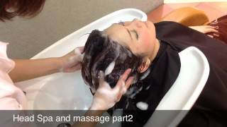 getlinkyoutube.com-Head spa and massage part2 with music