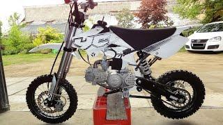 getlinkyoutube.com-Mini dirt bike | YCF 150 cross | PitBike adventures #1 | Ride for fun | Sport exhaust