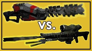 getlinkyoutube.com-Destiny: Ice Breaker vs. Patience and Time - Exotic Weapon Comparison