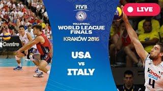 getlinkyoutube.com-United States v Italy - Group 1: 2016 FIVB Volleyball World League