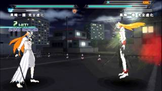 getlinkyoutube.com-Bleach Heat The Soul 7 - Ichigo VS Hollow Ichigo & Scarmask Ichigo