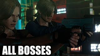 getlinkyoutube.com-Resident Evil 6 - All Bosses (With Cutscenes) HD