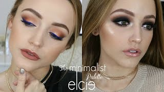 getlinkyoutube.com-2 LOOKS Using 1 PALETTE | Elcie Minimalist Palette Tutorial