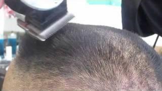 getlinkyoutube.com-Flattop haircut in 6 minutes clipper fade Video pre Phoenix /Mens clipper haircut