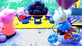 getlinkyoutube.com-Peppa Pig Свинка Пеппа. Мультфильм. Пеппа собирает ежевику.