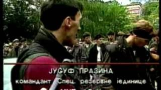 getlinkyoutube.com-Snaga Bosne: Juka Prazina - Smotra branilaca (Sarajevo '92)