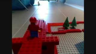 getlinkyoutube.com-Super Lego Mario 64 ~ Bowser in the Dark World