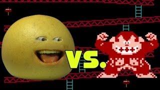 Annoying Orange - Grapefruit Vs. Donkey Kong