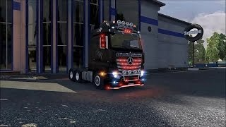 getlinkyoutube.com-Mercedes MP4 Mega Mod ETS2 (Euro Truck Simulator 2)