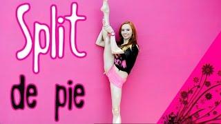 getlinkyoutube.com-SPLIT de Pie! Flexibilidad para subir la Pierna / Perfecta de Pies a Cabeza (Dani Zilli)