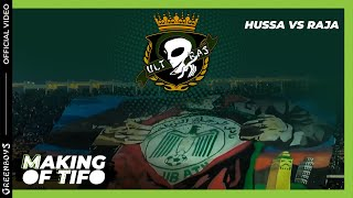 "getlinkyoutube.com-GREEN BOYS 05 - MAKING OF TIFO ""HERO"" - HUSA VS RAJA"