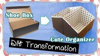 DIY Room Organization! Storage Idea Recycling Project | Sunny DIY