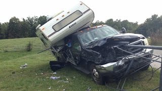 getlinkyoutube.com-Ford F550 Accident Recovery - Ervin McGarrah Road, Lowell, Arkansas