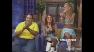 getlinkyoutube.com-[2005] RBD en No Manches cantan Rebelde / Entrevista / Y Soy Renaka [1/3]