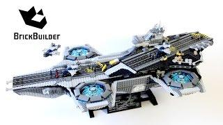 getlinkyoutube.com-Lego Super Heroes 76042 The SHIELD Helicarrier - Lego Speed Build
