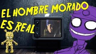 getlinkyoutube.com-EL HOMBRE MORADO Y SPRINGTRAP EN LA VIDA REAL (real life)   video reaccion fnaf