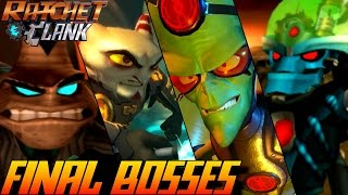 getlinkyoutube.com-Ratchet & Clank - ALL Final Bosses 2002-2016 (PS4, PS3, PS2, PSP)