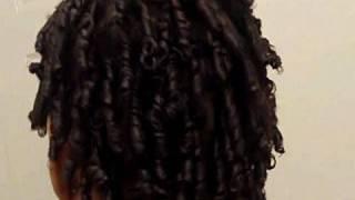 getlinkyoutube.com-Finger coils on Very Short and Longer Hair