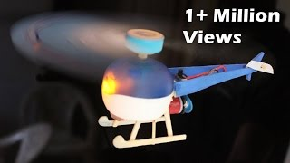 getlinkyoutube.com-How to make Helicopter with Motor - DC Motor Electric Helicopter - EASY