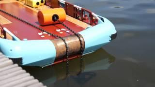 getlinkyoutube.com-Anchor Handling (delta flipper) Maersk Master