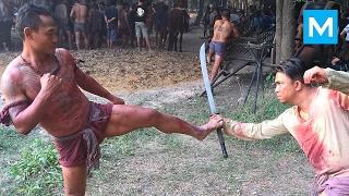 getlinkyoutube.com-MUAY THAI MONSTER - Saenchai | Muscle Madness