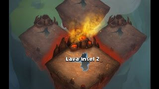 getlinkyoutube.com-CC #328 Lava Insel 2 erfolgreich  by Hunted Castle Clash / Schloss Konflikt