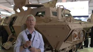 getlinkyoutube.com-SOFEX 2014 Textron Marine and Land Systems Commando Select 4x4 Light Armoured Vehicle