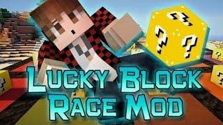 getlinkyoutube.com-Minecraft: Lucky Block Race RETURNS! Modded Mini-Game w/Mitch & Friends!