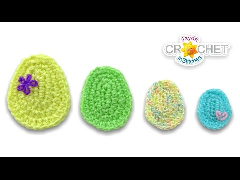 Basic Egg Shape - Crochet Tutorial