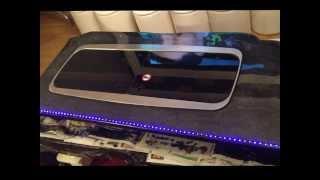 getlinkyoutube.com-EPOXY RESIN WORK TOP, SIDE BOARD WITH LED LIGHTS,