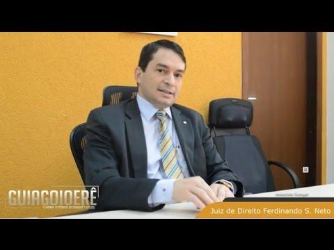 Pronunciamento do Dr. Ferdinando - Juiz da Comarca de Ubiratã