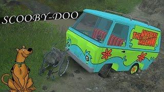 getlinkyoutube.com-Van do Scooby-Doo e Cadeira de Rodas no Atoleiro - Spin Tires