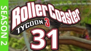 getlinkyoutube.com-Let's Play Rollercoaster Tycoon 3 - RIDING THE RIDES! #2
