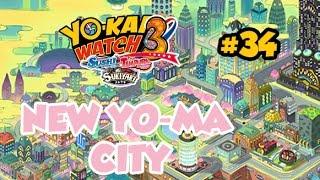 getlinkyoutube.com-Yo-kai Watch 3 #34 FR - EN ROUTE POUR NEW YO-MA CITY ! LA VILLE YO-KAI !