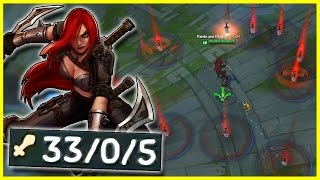 "getlinkyoutube.com-THE ""PERFECT"" URF KATARINA GAME 